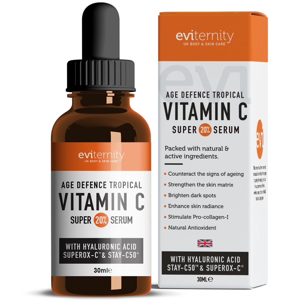 Eviternity 20% Vitamin C & Hyaluronic Acid Age Defence Tropical Super Serum