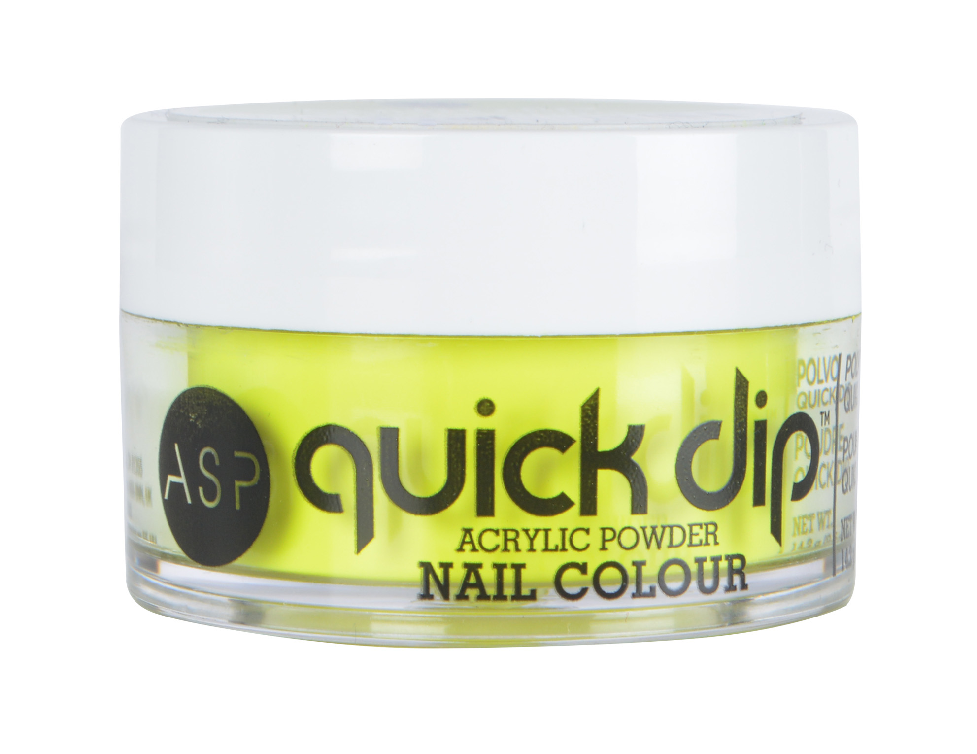ASP Neon POP Quick-Dip Acrylic Powder Electrifying Yellow