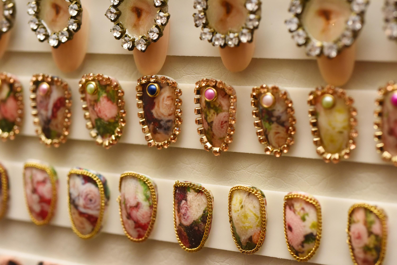 CND showcase SS18 nails at NYFW