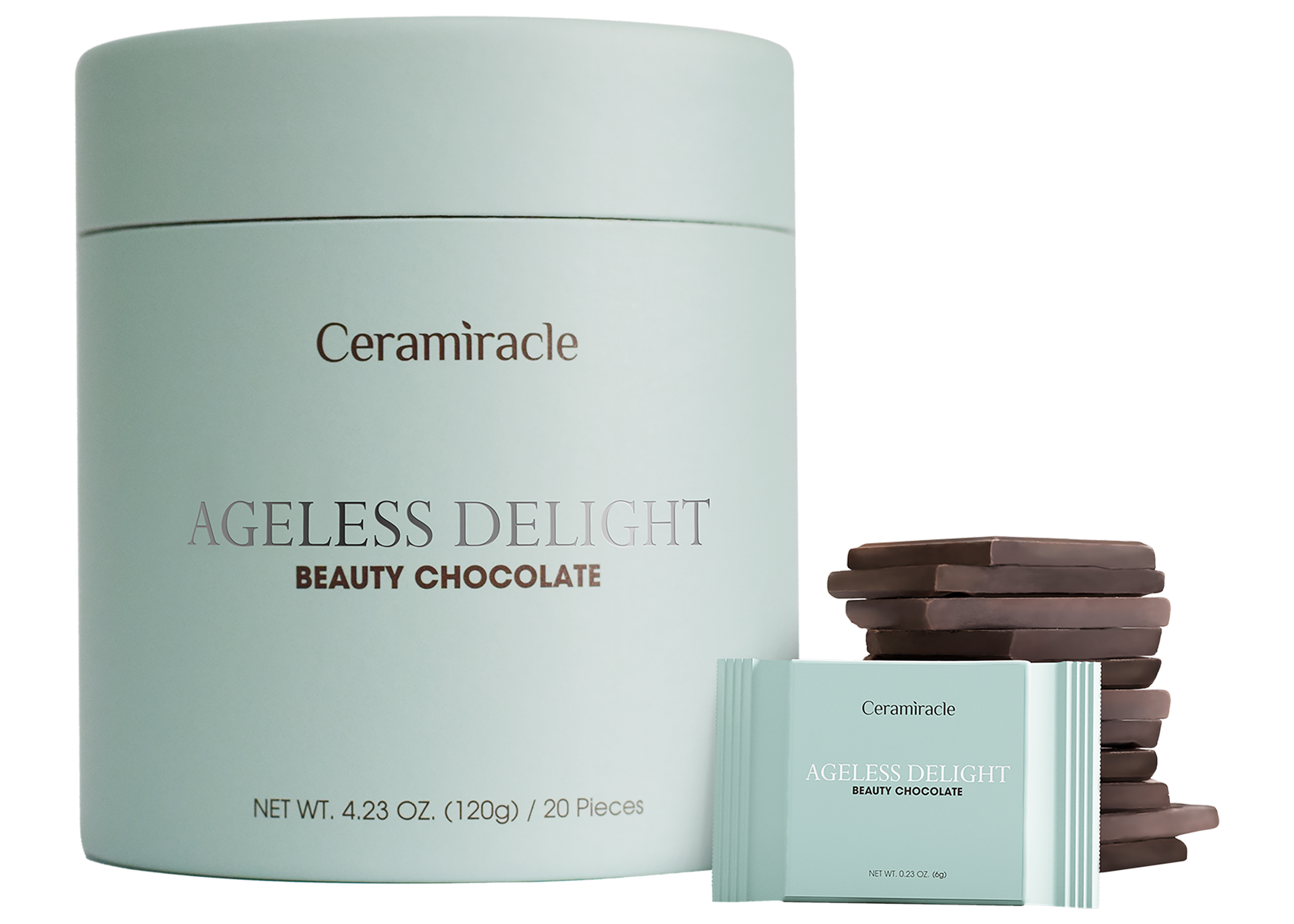Ceramiracle Ageless Delight Beauty Chocolate Supplement