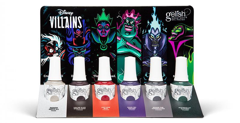 Gelish Disney Villians 2020
