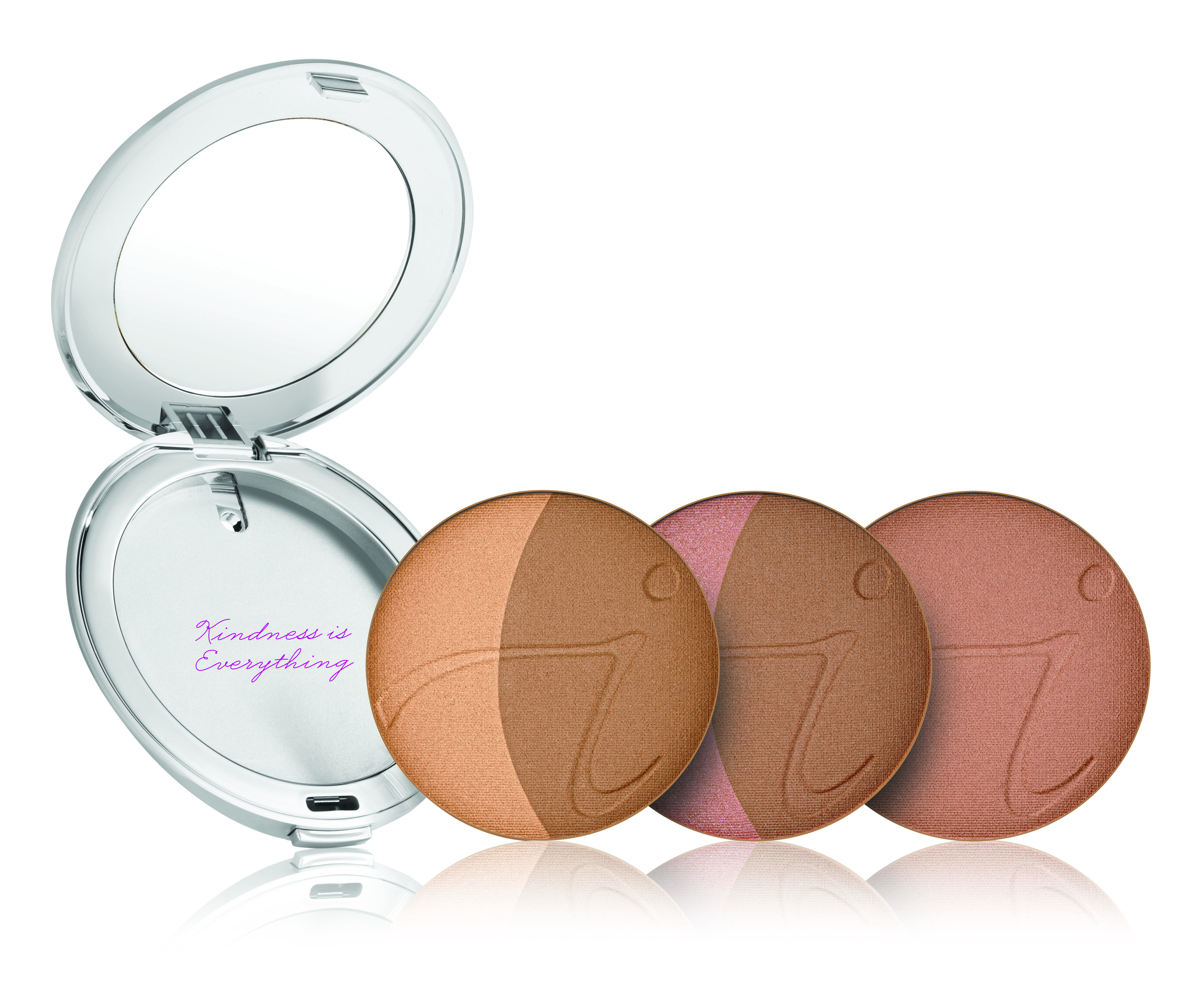 jane iredale Silver Refillable Compact