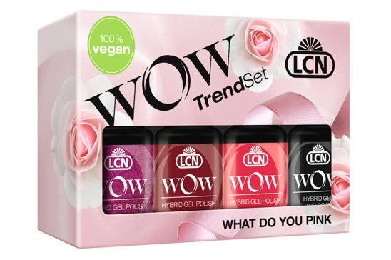LCN Wow Hybrid Gel Polish What Do You Pink AW18