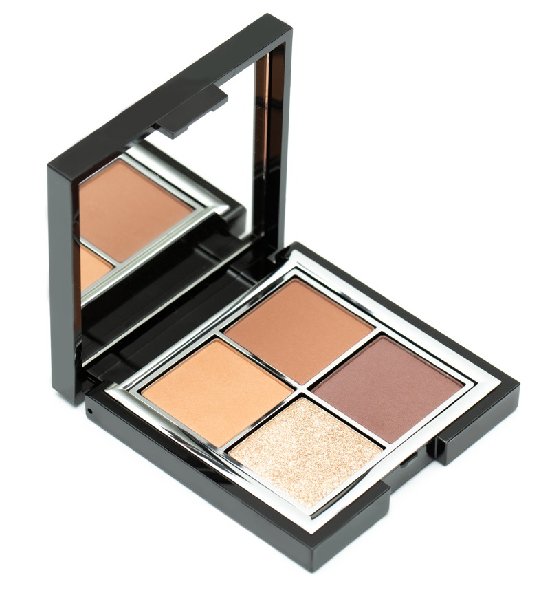 Mii Pure Decadence Eye Palette in Champagne and Cognac.