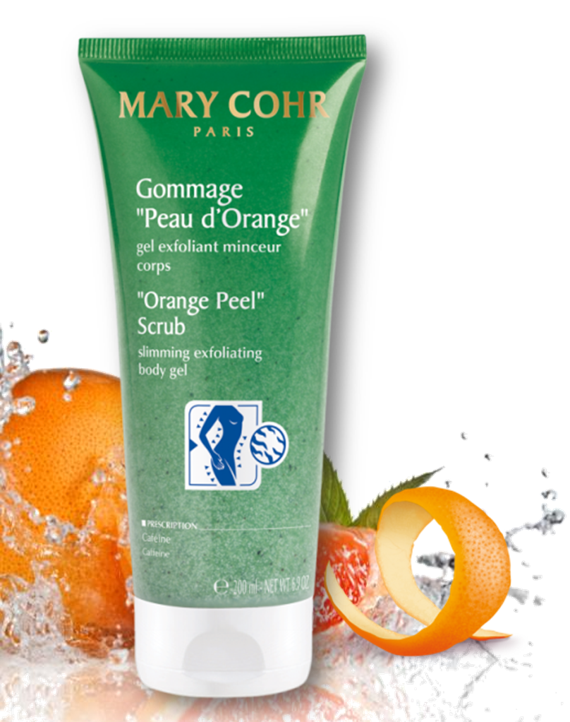 Mary Cohr Orange Peel Scrub Slimming Exfoliating Body Gel