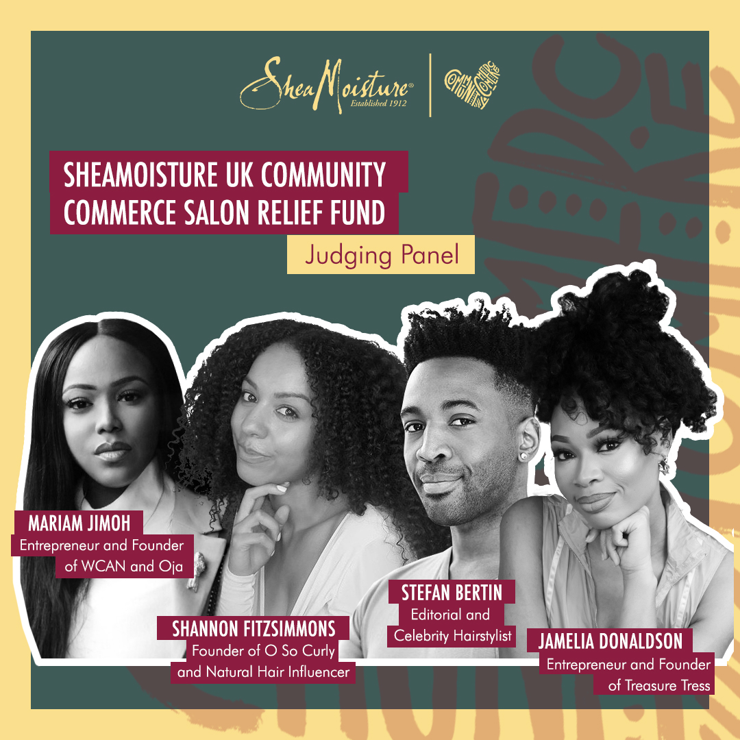 SheaMoisture UK Community Commerce Salon Relief Fund