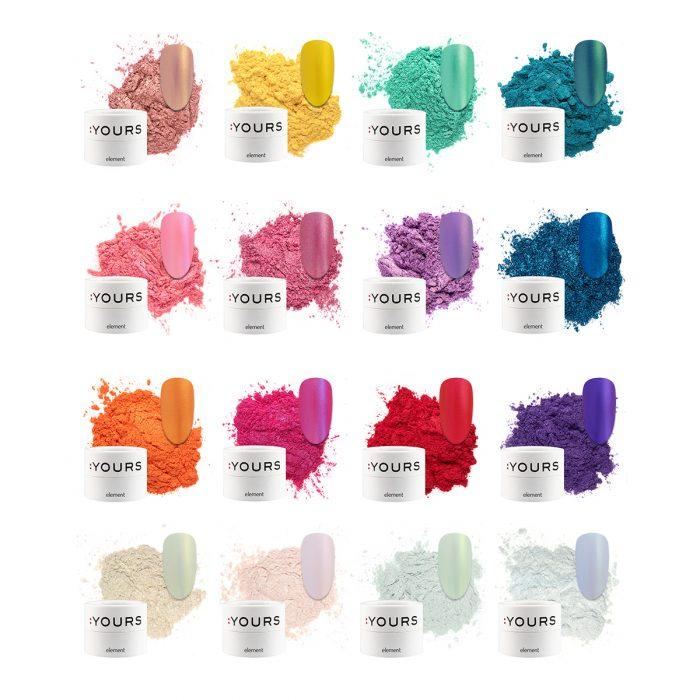 :Yours Essentials nail art pigments