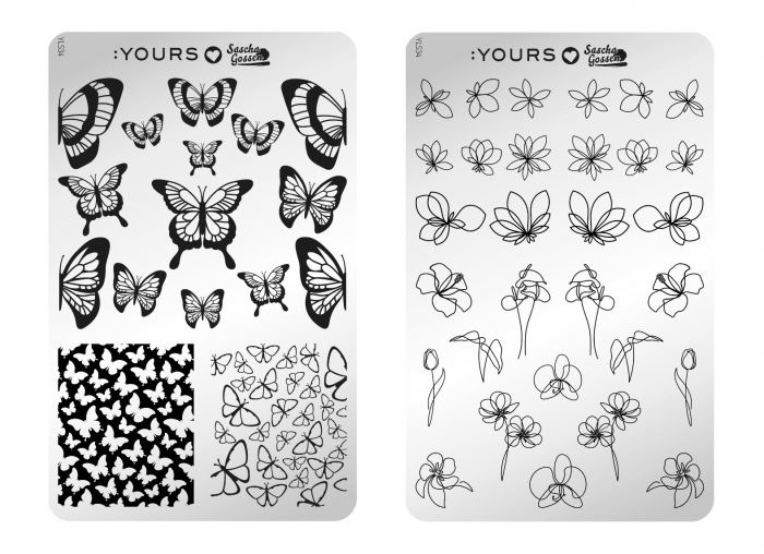 :Yours Summer 2020 nail art plates
