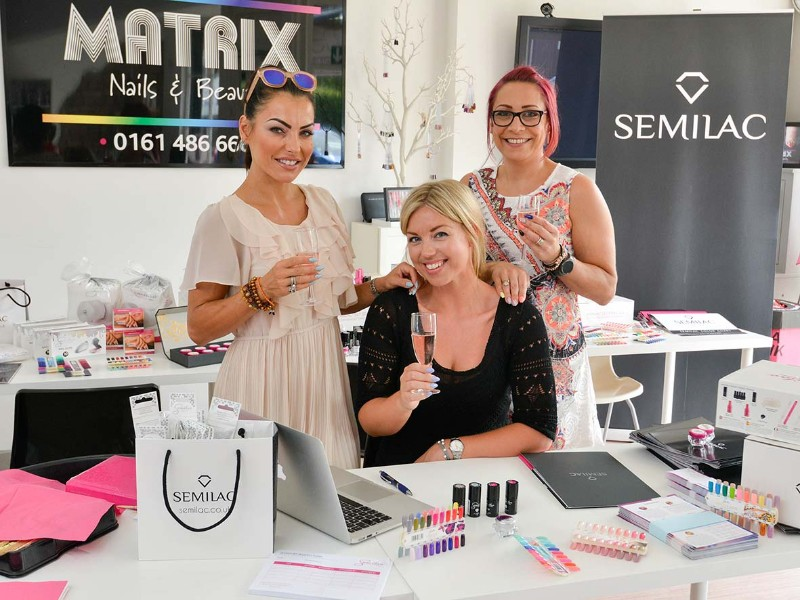 Nail Experts Launch Semilac Academy