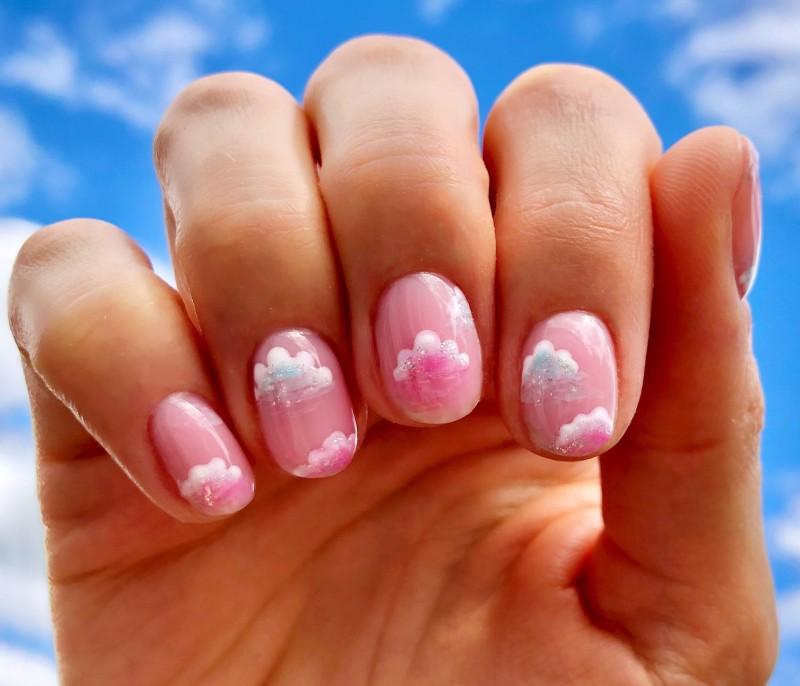 Gellux nail art step by step