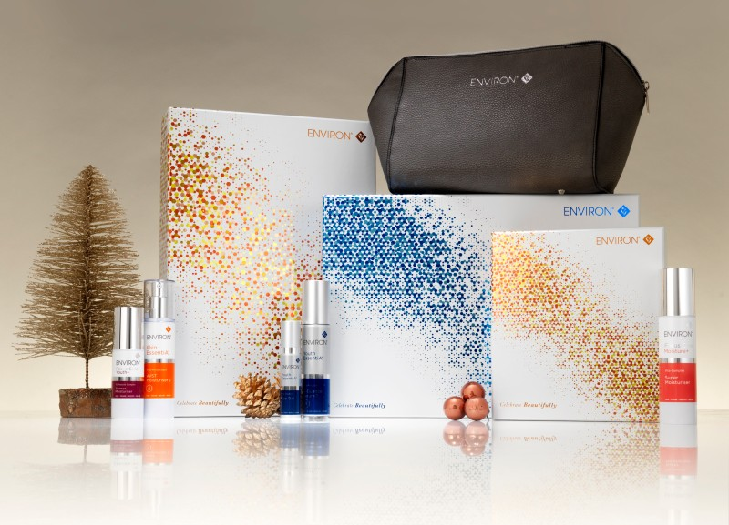 Environ unveil five Christmas skincare gifts