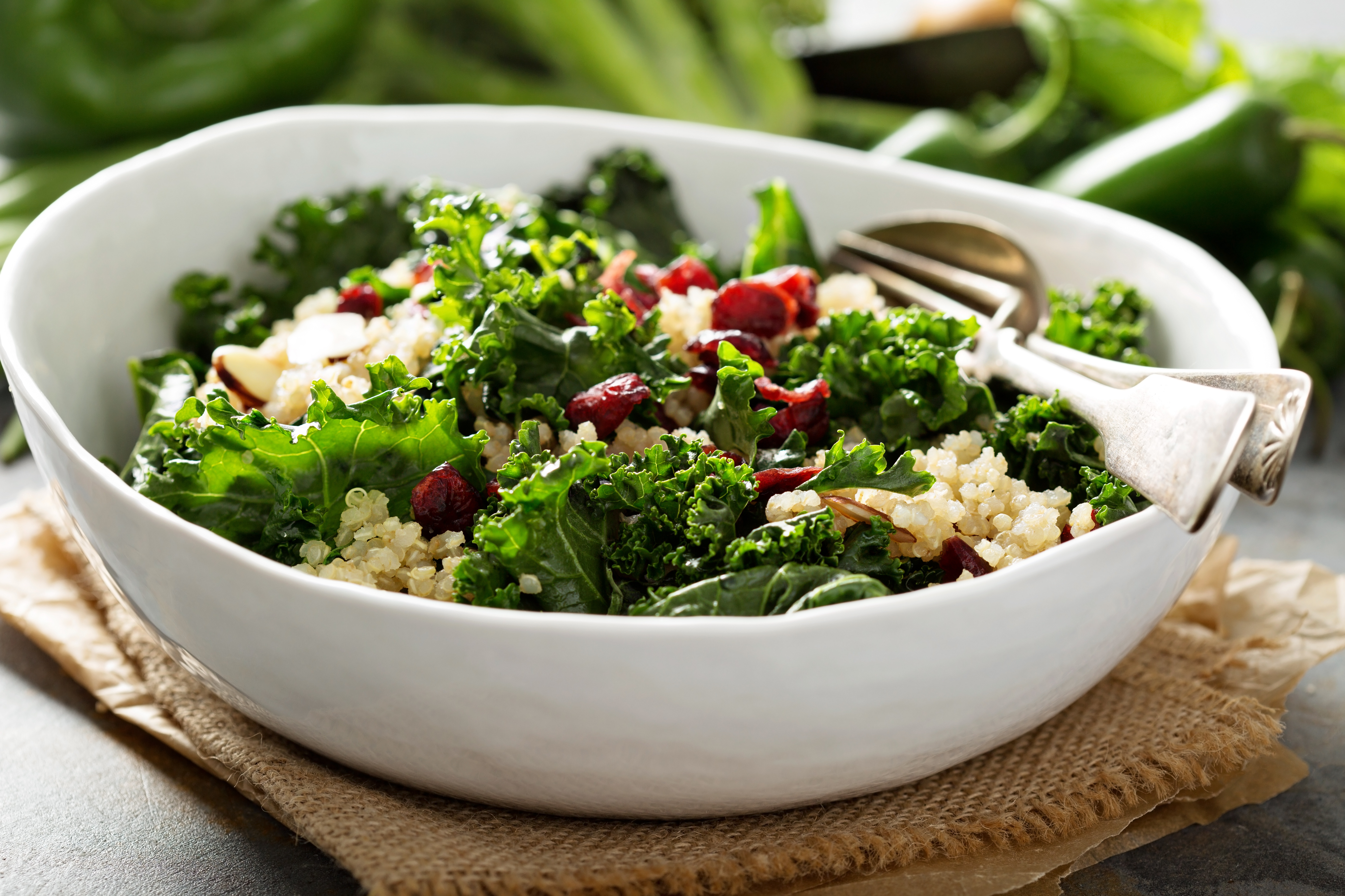 kale salad for antiageing