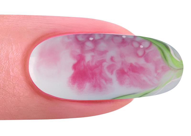 Gelish nail art