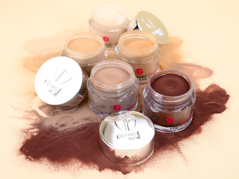 Revel Nail Nude Dip Powders